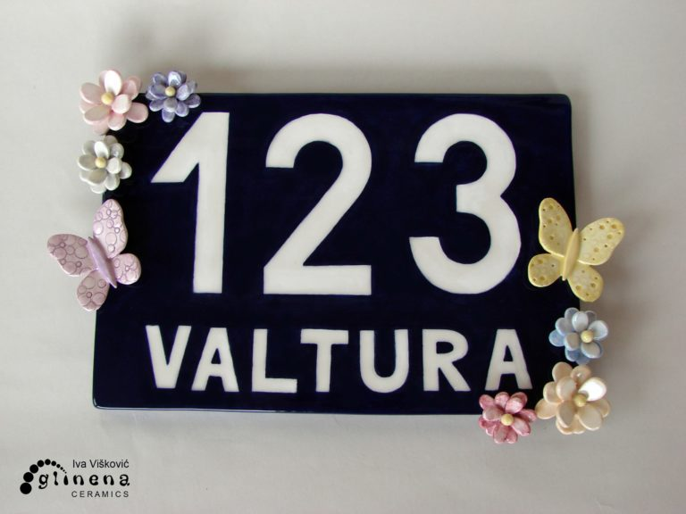 Address flowers