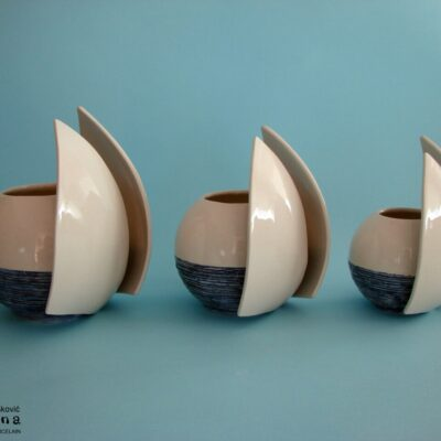 Bowl, vase, pencil stand 16 cm