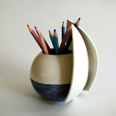 Bowl, vase, pencil stand 14 cm
