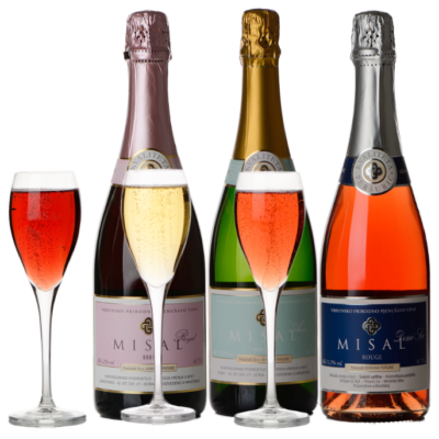 Misal sparkling wines set, 6 pcs – EXOTIC