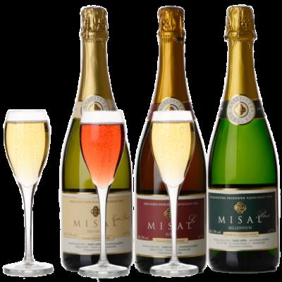Misal sparkling wines set, 6 pcs – ELEGANCE