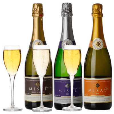 Misal sparkling wines set, 6 pcs – EXCLUSIVE
