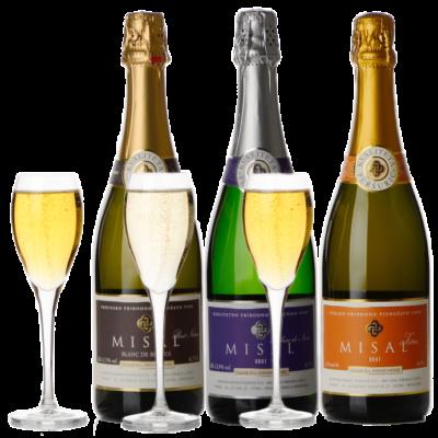 Misal sparkling wines set, 6 pcs – EXCLUSIVE